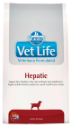 Корм для собак Farmina Vet Life Canine Hepatic (Фармина корм для собак при печеночной недостаточности)