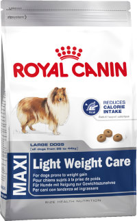 Корм для собак Royal Canin Maxi Light (Сухой корм Роял Канин Макси Лайт для собак крупных пород низкокалорийный)