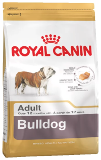 Корм для собак Royal Canin Bulldog Adult (Сухой корм Роял Канин для собак породы Английский Бульдог старше 1 года)