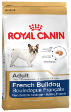 Корм для собак Royal Canin French Bulldog Adult (Сухой корм Роял Канин для собак породы Французский Бульдог старше 1 года)