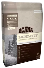 Корм для собак Acana Heritage Light & Fit (Сухой корм Акана для собак низкокалорийный Лайт & Фит )